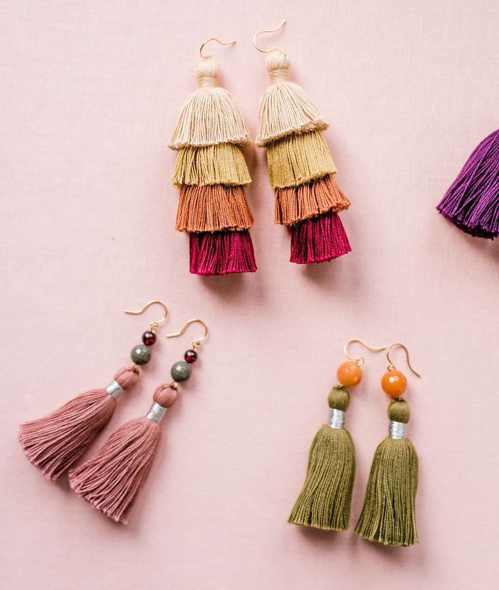 Colorful, lightweight, AND under $50? I think I just found the perfect bridesmaid gifts! Shop brights & neutrals in our Tassel Collection