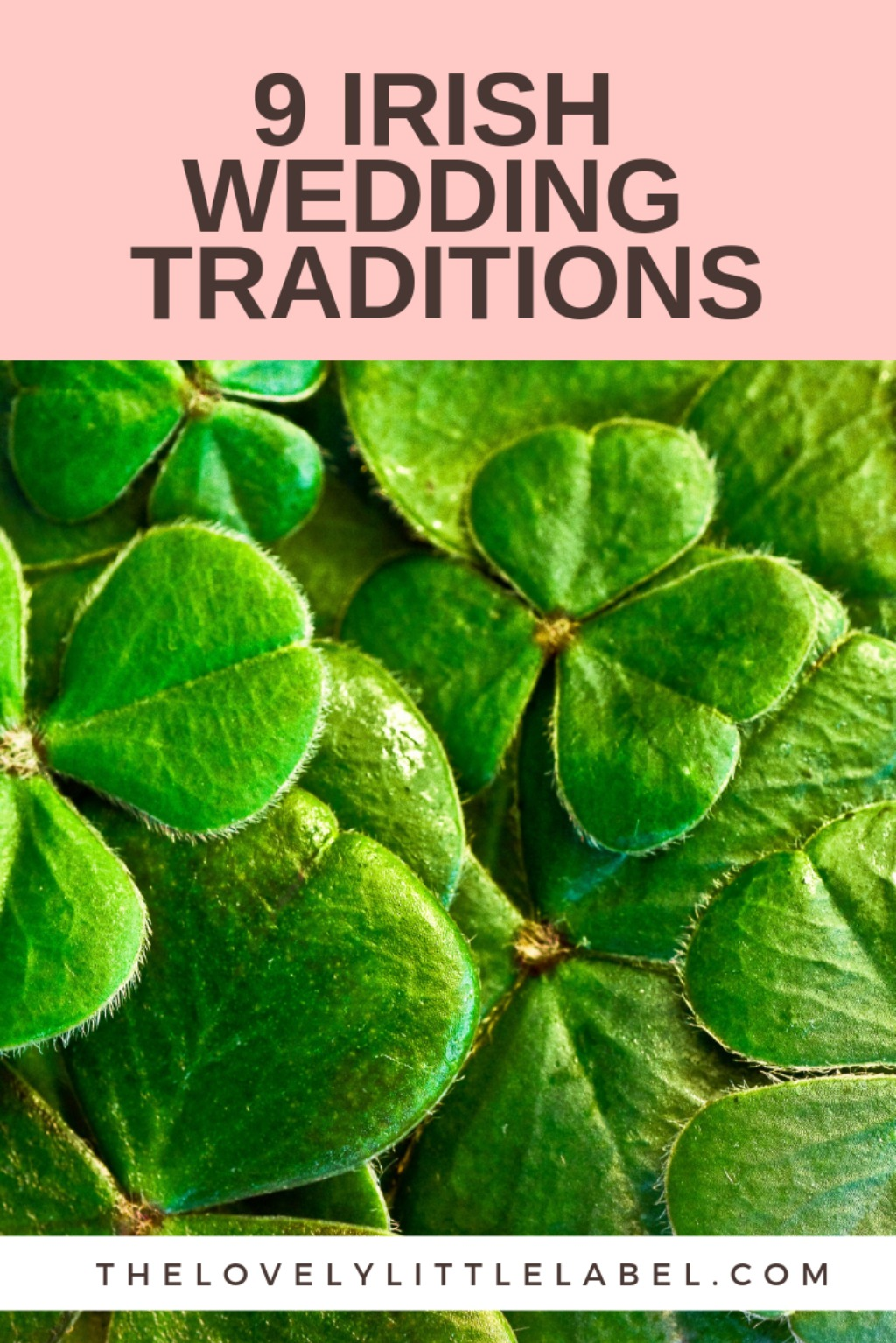 ENSURE YOUR WEDDING DAY HAS PLENTY OF IRISH CHARM BY INCLUDING SOME IRISH WEDDING TRADITIONS THAT HAVE BEEN AROUND FOR CENTURIES. THERE