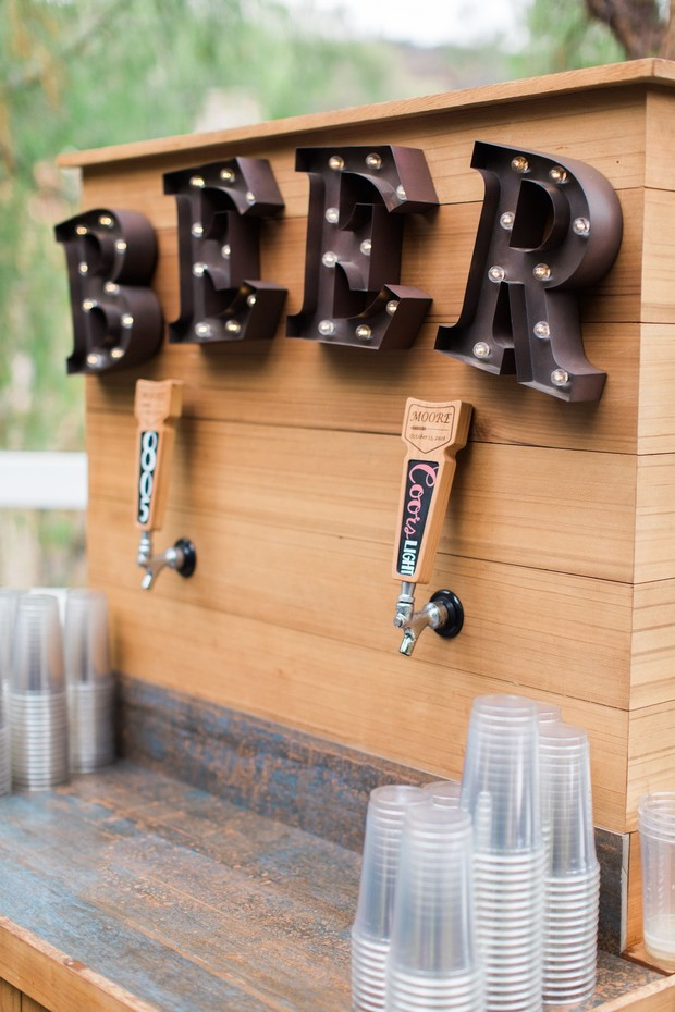 pour your own beer bar