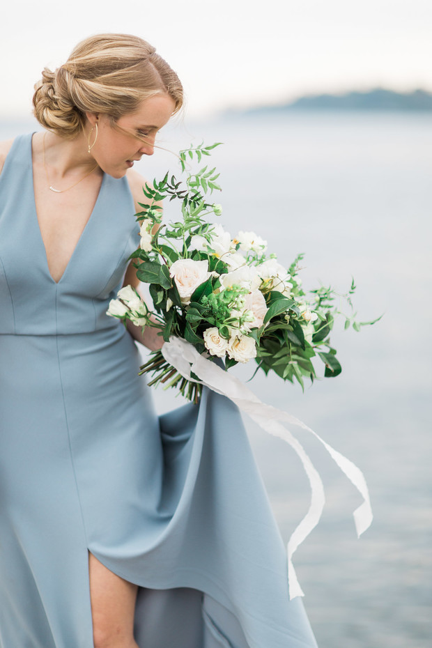 Modern Chic Nautical Wedding Inspiration By The Sea