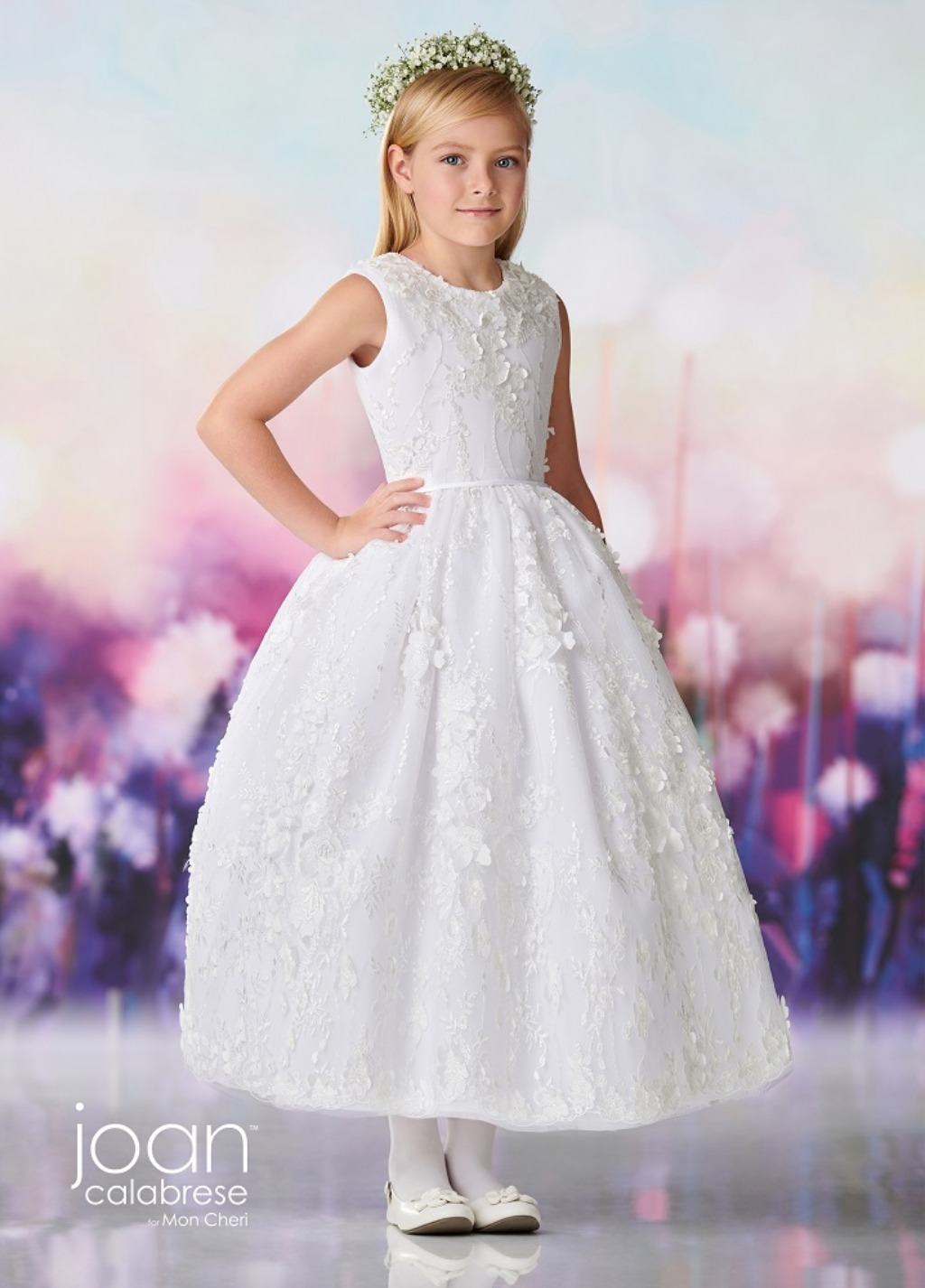 Joan Calabrese Flower Girl Trunk Show