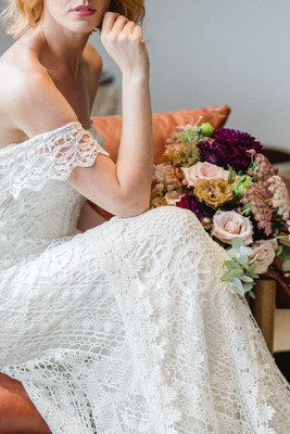 Modern Bohemian Wedding at a Cool Boutique Hotel in Mexico