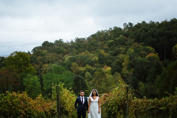 early fall wedding