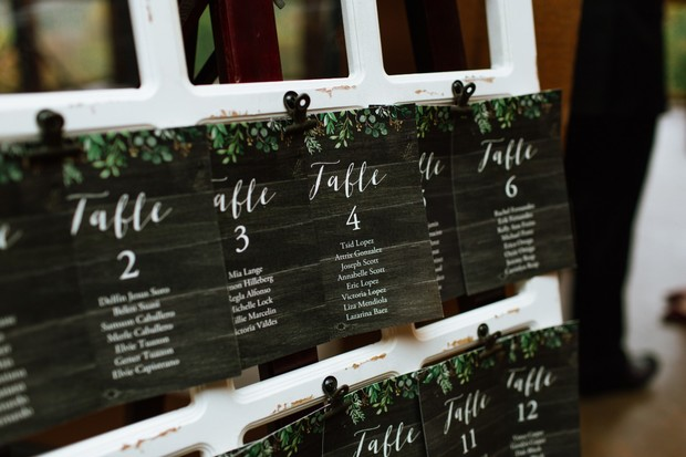 seating chart design for fall