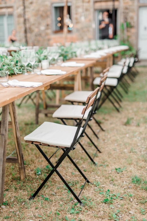 A Relaxed Rustic Chic Tuscany Wedding With A Limited Guest List