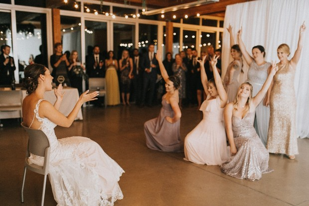 bridesmaids choreographed dance