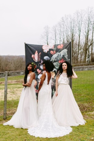 three bridal looks for your fall wedding