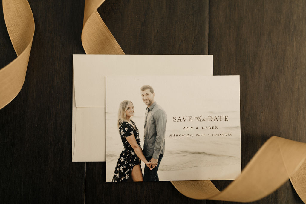 'Tis the season to start planning! Shop our photo save the dates now!