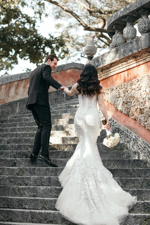 Inbal Dror booty-ful wedding dress