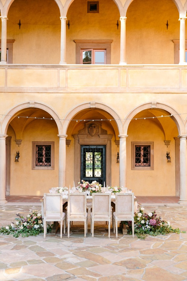 Villa Del Sol D'oro wedding inspiration
