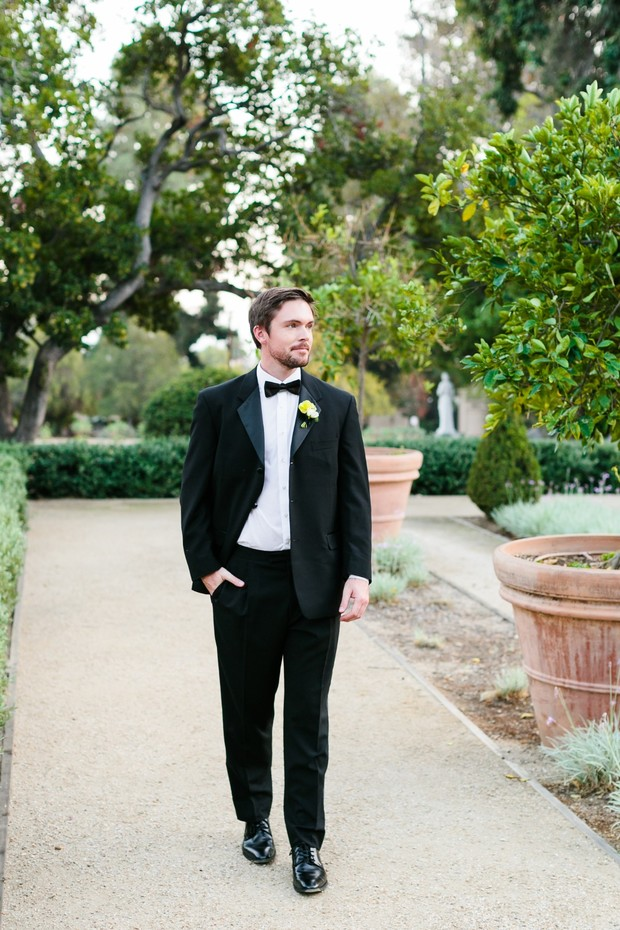 black-tie for the groom