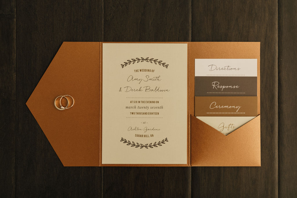 Make sure your Wedding Invitations Suite shines just like the bride on your big day! Our Just Loverly Wedding suite keeps things simple