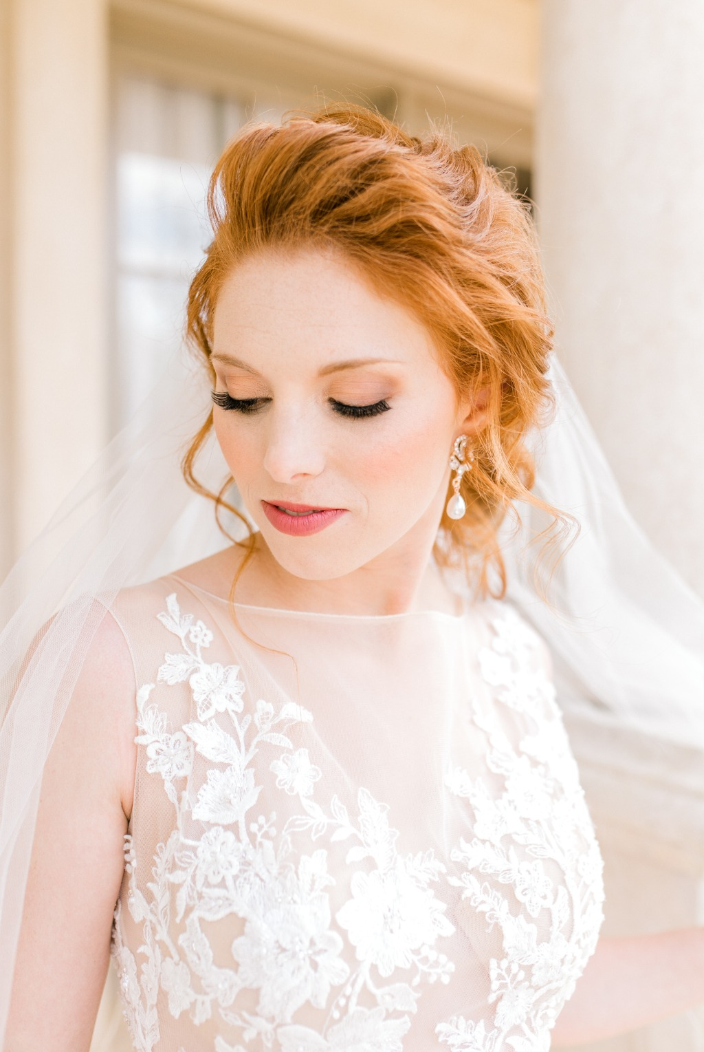 Bridal portraits on a wedding day is one of my favorite moments to capture!