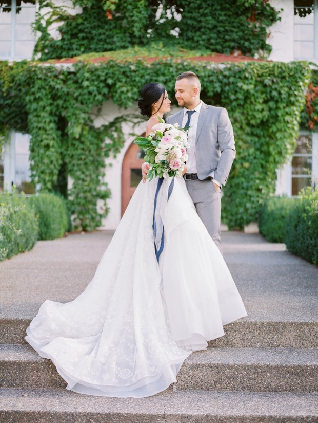 Have An English Garden Wedding In Washington
