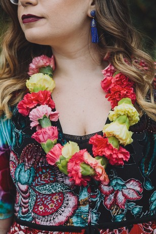floral lei