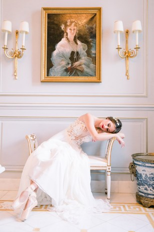 ballerina bridal shoot