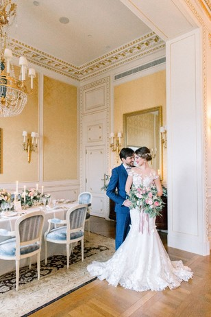 elegant french wedding reception ideas