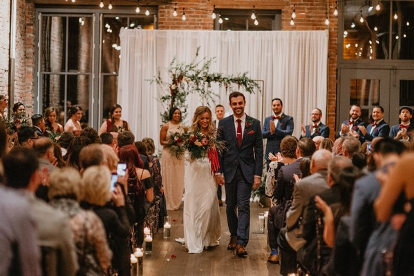 A Boho Chic Wedding In Seattle With Just Enough Edge