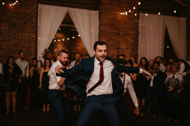 choreographed groom dance