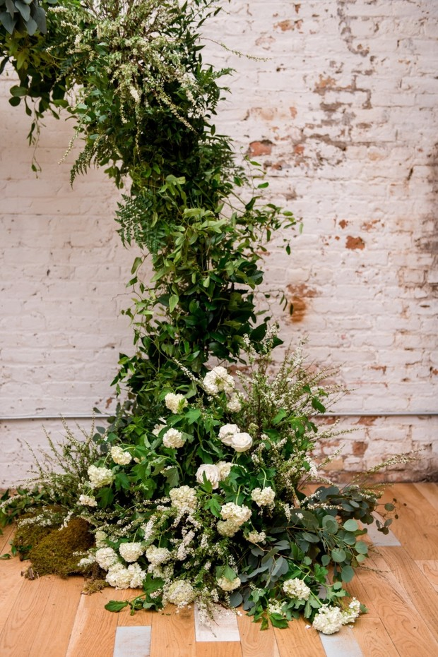 What Does And Organic Rustic Industrial Wedding Look Like
