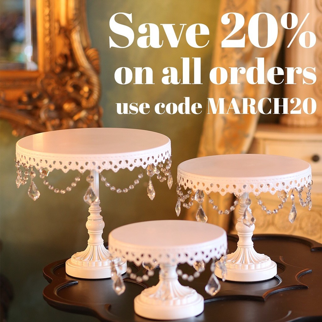 Opulent Treasures Cake Stand Sale