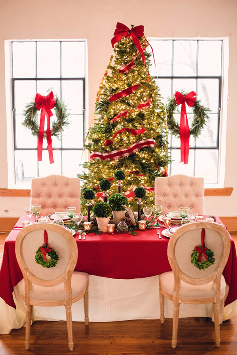 Holiday Party Decor Ideas Part - 29: 1/29 Rustic Holiday Party Decor Ideas