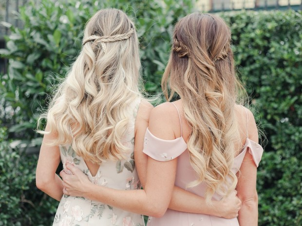 bridesmaid hair style