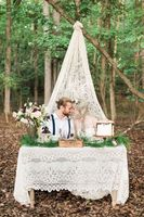 Vintage Woodland Elopement Ideas