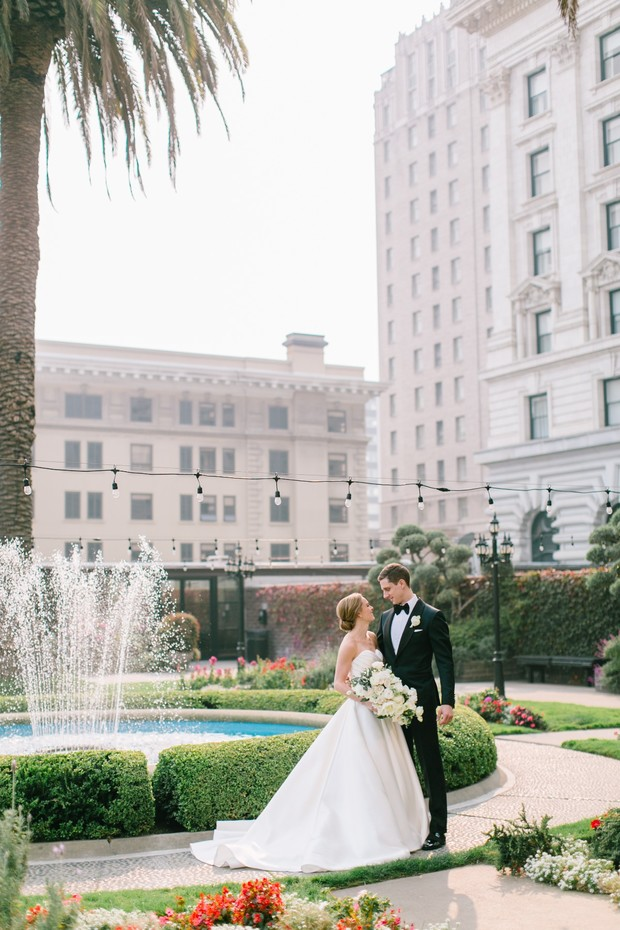 how to have a classic SF wedding