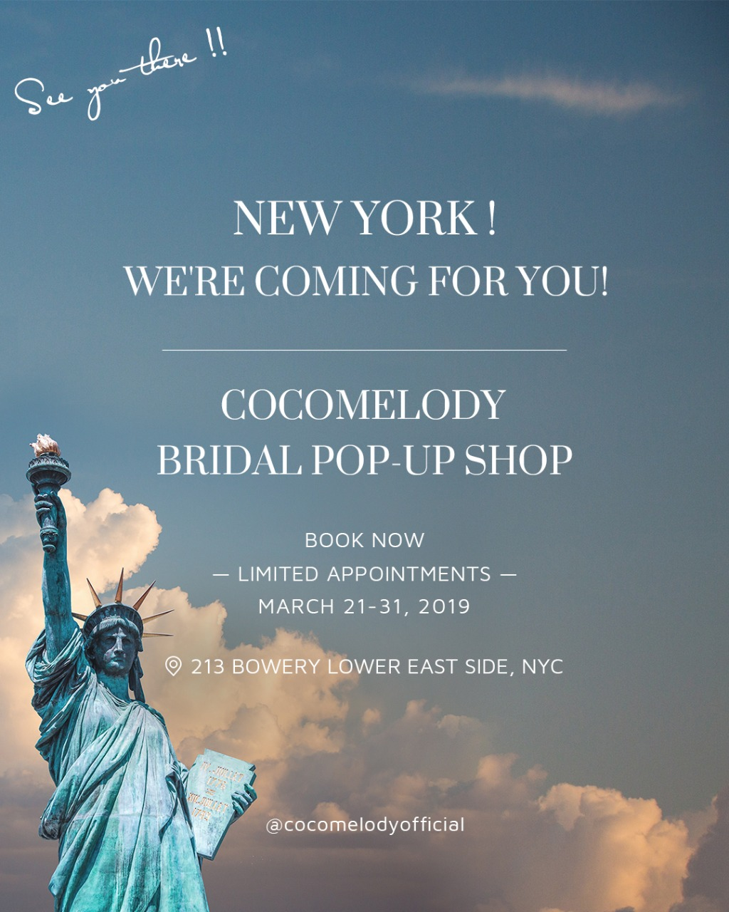 CocoMelody New York Pop-Up Shop