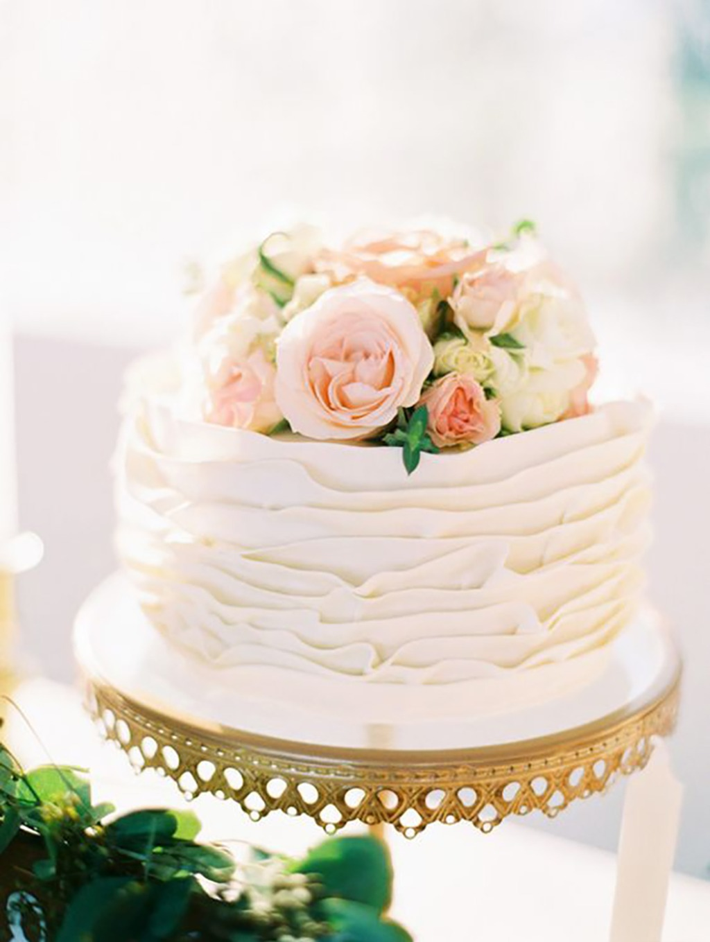 Gorgeous Al Fresco Playa del Carmen Wedding ... Fresh Floral wedding Cake by Pasteleria La Migaja on Opulent Treasures Wedding Cake