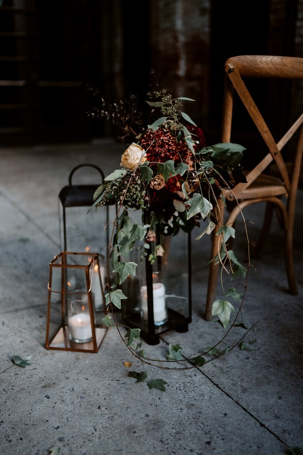 wedding lantern decor