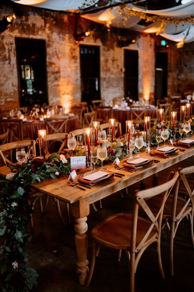 wedding family style seating