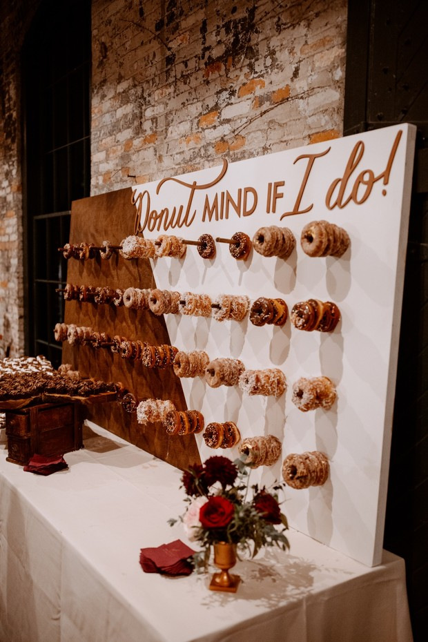 Donut mind if I do donut wall