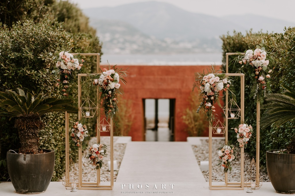 Luxury Wedding at Island Athens Riviera, Varkiza