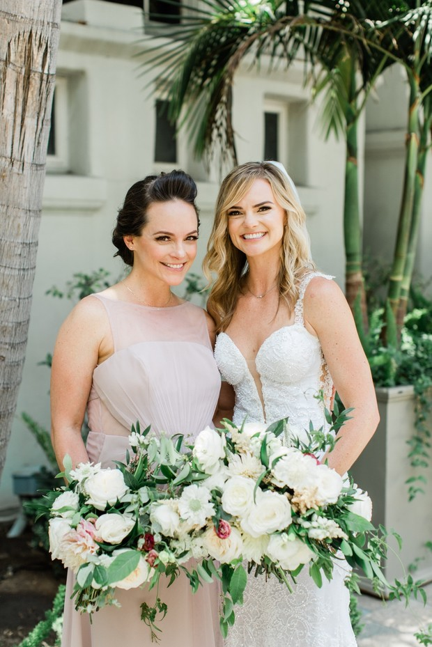 Bride and MOH - Kelly LeVeque