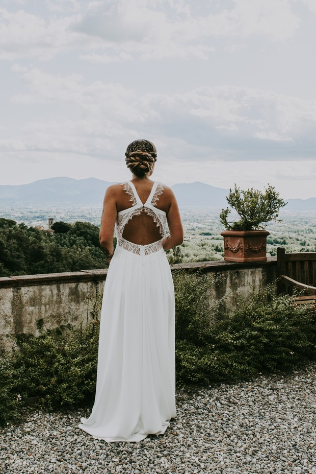 Summertime Boho Garden Wedding In Italy