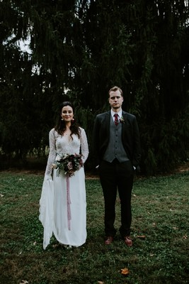 Moody Romance Wedding That Celebrates Love and Life