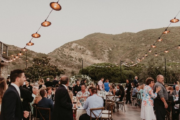 outdoor wedding at Ranch at Laguna Beach