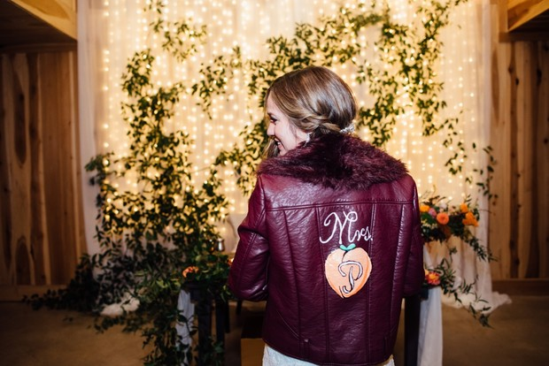 brides custom jacket
