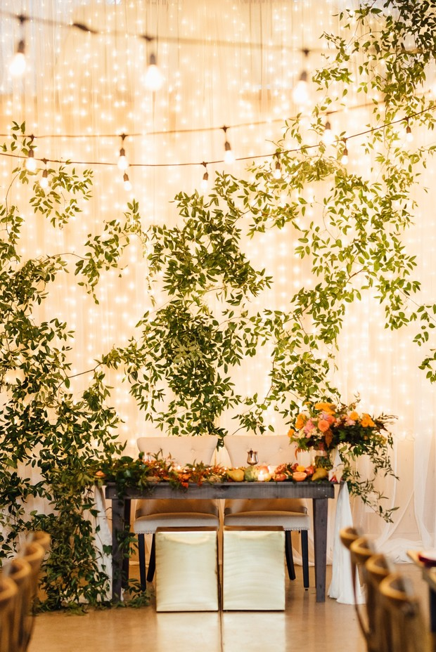 sweetheart table backdrop design