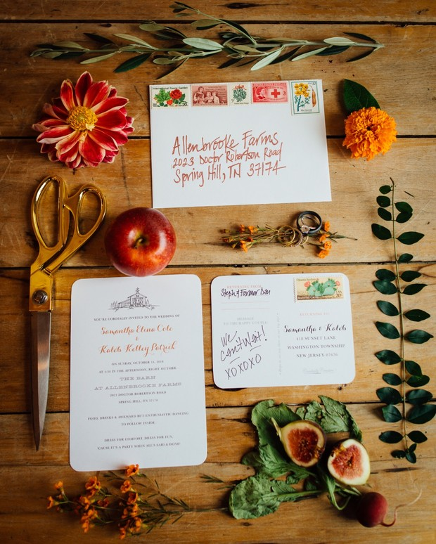 farm invitation suite