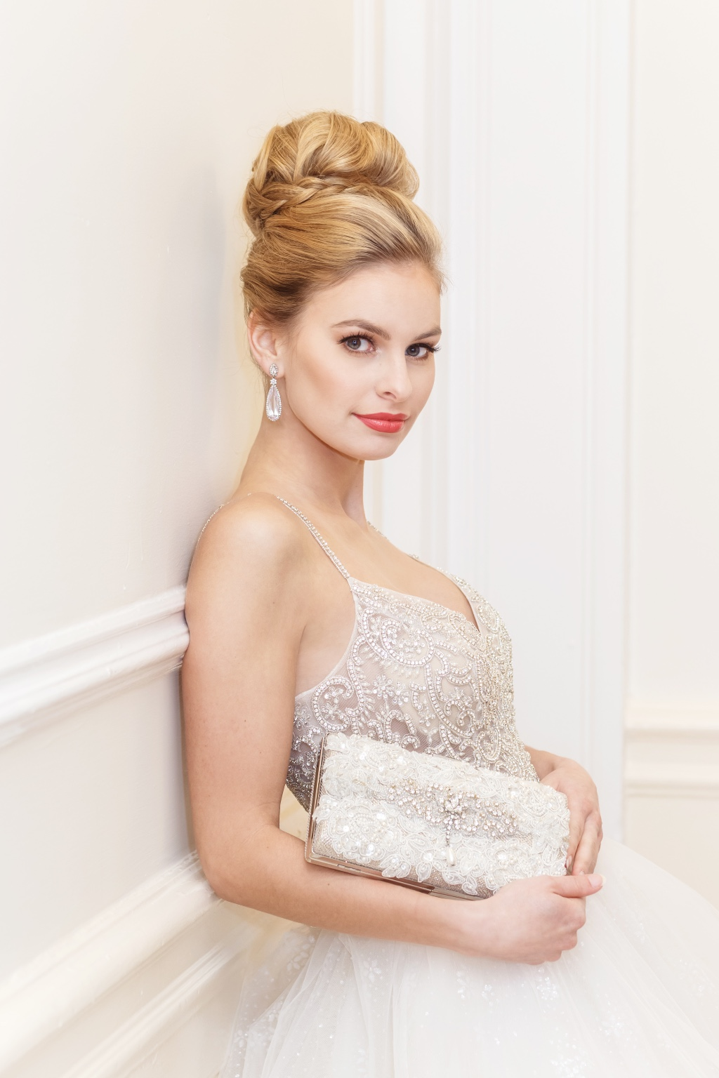 Lux bride clutches perfect for a princess bride