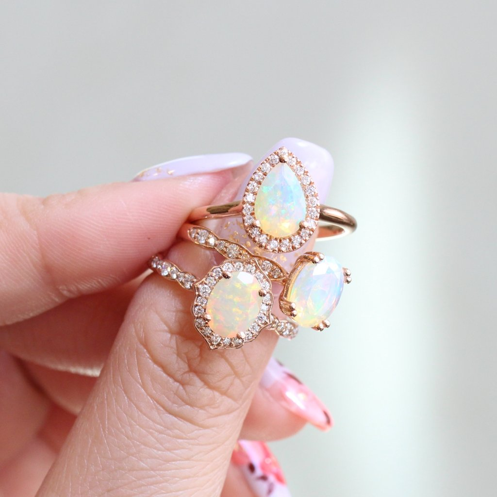 She's unique, she's delicate, she's opal ~ See more from our Opal collection here!