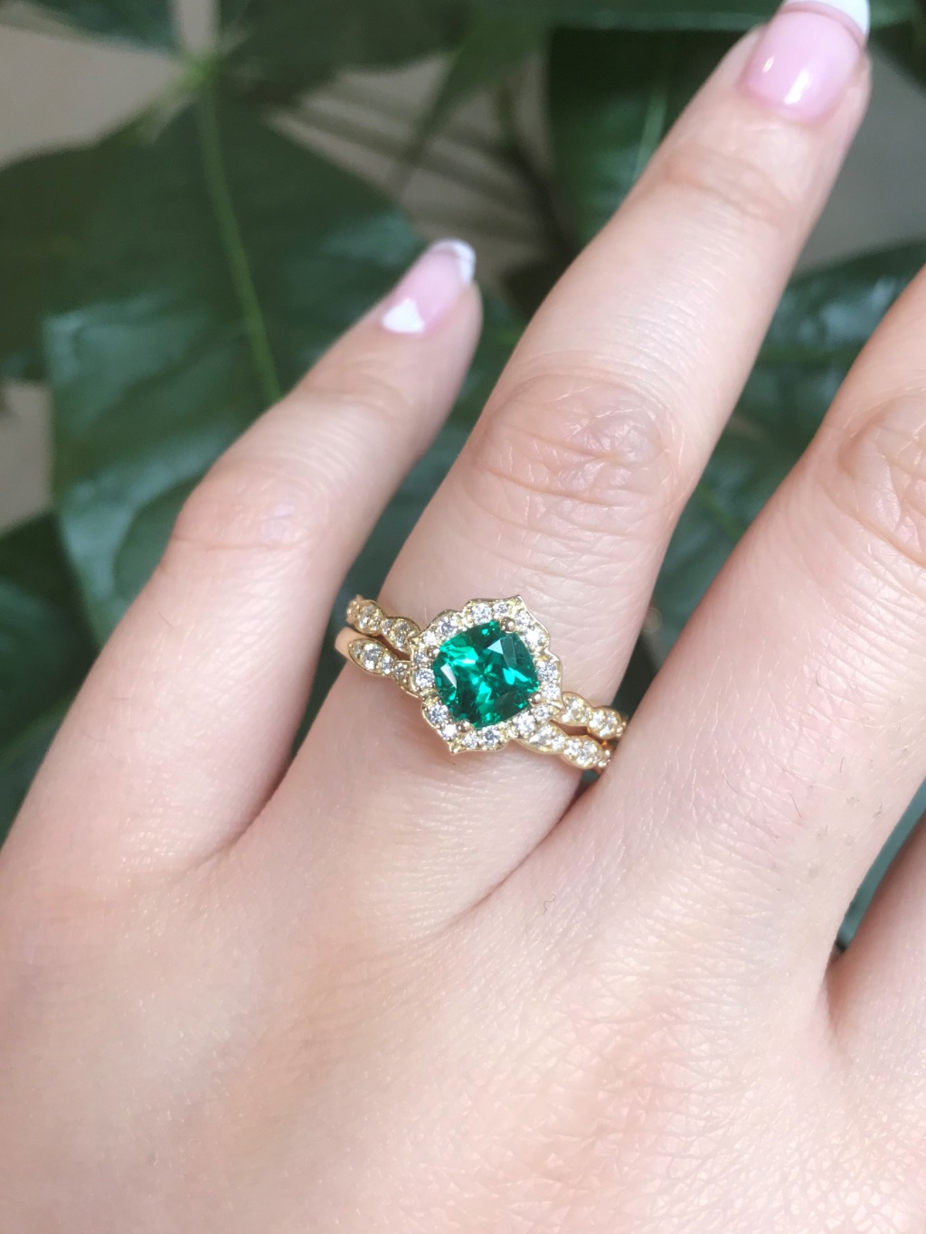 Emerald is the statement gemstone you've been waiting to wear ~ See more from this gorgeous green gemstone in our Emerald collection