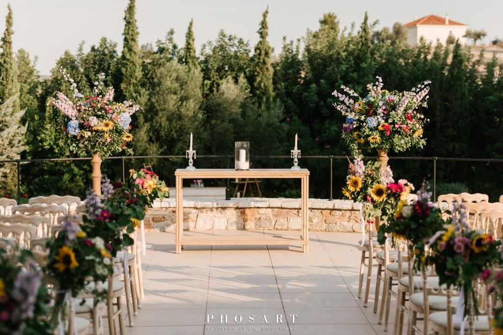 Winery Chic Fairy-tale Wedding at Pyrgos Petreza