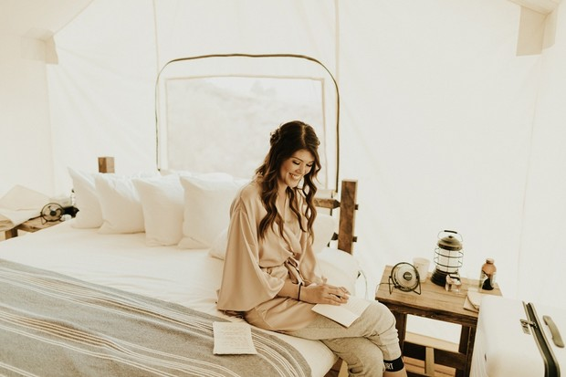 glamping wedding at Zion National Park