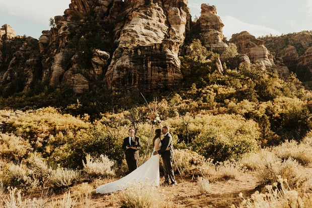 Eloped in Zion National Park