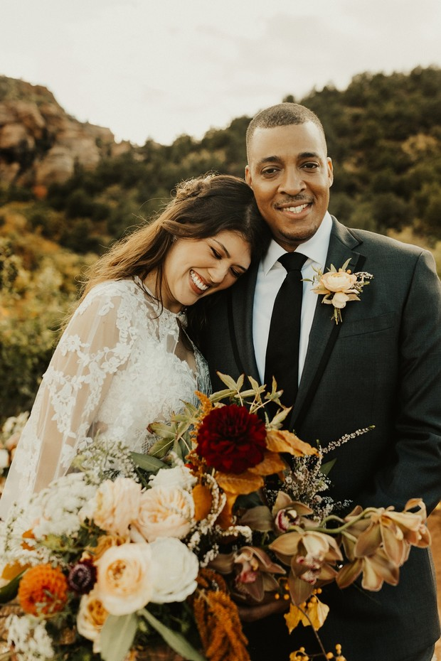 romantic elopement at Zion National Park