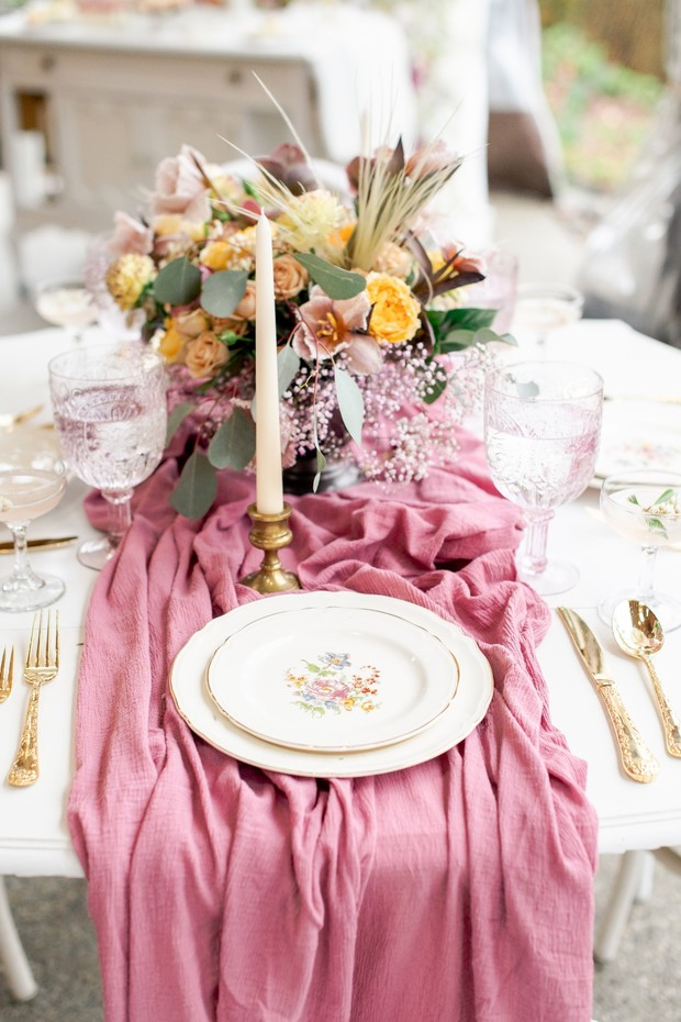 wedding place setting design
